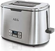 AEG AT7800 Tostadora, 980 W, Acero Inoxidable, 7