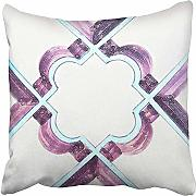 AHENANY Throw Pillow Cover Cotton 18 X 18 Inch
