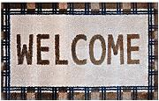 Alfombrilla LifeStyle 100017 Welcome, felpudo