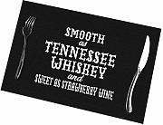 Alvahw Smooth As Tennessee Whiskey Placemats para
