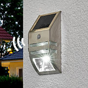 Aplique de pared solar LED Sol WL-2007 sens. mov.