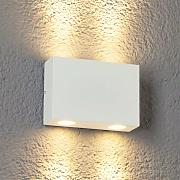 Aplique LED exteriores Henor blanco 4 puntos luz