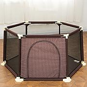 Baby Kids Playpen with Crawling Mat Activity