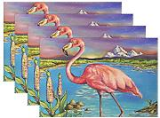 "baihuishop Flamingo 12 x 18 ""manteles"
