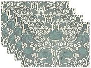 "baihuishop William Morris 12 x 18 ""manteles"