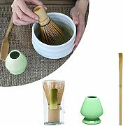 Bamboo Tea Whisk Holder, FORNORM Matcha Making