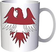 Bandera de Letonia Eagle 330 ml taza u599