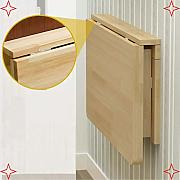 BCX Mesa de pared, mesa plegable desplegable,