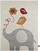 Benuta Alfombra Infantil (Birdies and Elephant,