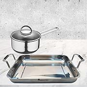 Bergner PK1472 Set Cooking 2 pcs-Molde de Horno