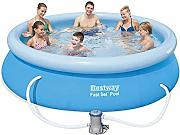Bestway Fast Set Piscina Desmontable Autoportante,