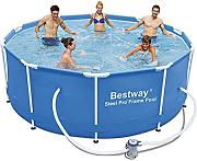 Bestway Steel Pro Piscina desmontable tubular, 305