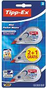 BIC - CINTA CORRECTORA TIPP-EX MINI POCKET MOUSE