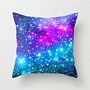 Bright Galaxy Cushion Cover Throw Pillow Case