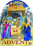Calendario de Adviento Matthew Rice Nativity