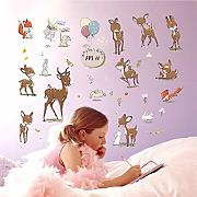 Cartoon Animal Pegatinas de Pared Super Lindo
