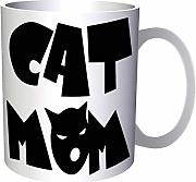 Cat mom 330 ml taza gg796