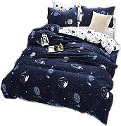 CHAOSE Funda nórdica Ropa de Cama Star Wars Space