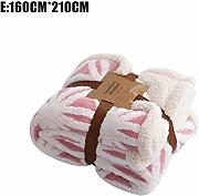 Chifans Bedsure Fluffy Throw Blankets Double/Twin