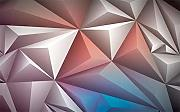 Color Space Pattern Custom 3D Photo Wallpaper
