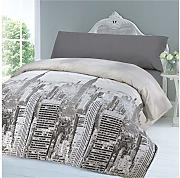 COTTON ART Funda Nordica City Life Reversible Cama