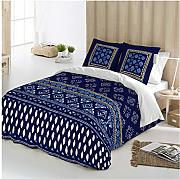 COTTON ART - funda Nordica Modelo INDIAN AZUL cama