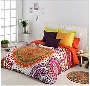 COTTON ARTean Funda Nordica Mandala Cama de 135