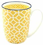 Creatable 21188 Taza de café, amarillo curry