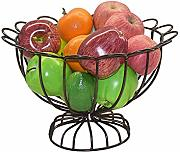 Creative Metal Fruit Bowl/Bread Fruit Basket