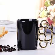 Creative Ring Cup Fist Mug Deformated Ceramic Cup