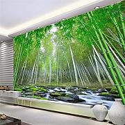 Custom 3D Wall Papers Realistic 3D Bamboo Forest
