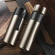 Doble lids Thermos botella 304 acero inoxidable