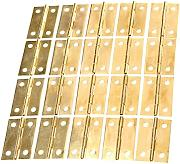 Dophee 20Pcs 34x22mm Mini - Bisagras de oro joyas