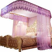 EAHKGmh Cama con Dosel Cortina Mosquitera for