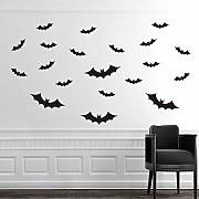 easyxu DIY Halloween Negro 3D Pared Pegatina