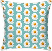 Eggs Throw Pillow Covers Decorative Pillowcases