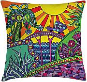ERCGY Fantasy Throw Pillow Cushion Cover, Artistic