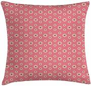 ERCGY Floral Throw Pillow Cushion Cover, Flowers