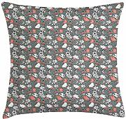ERCGY Garden Art Throw Pillow Cushion Cover,