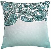 ERCGY Paisley Decor Throw Pillow Cushion Cover,