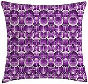 ERCGY Retro Throw Pillow Cushion Cover, Vintage