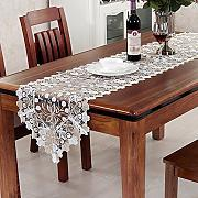 European Long Table Runner TV Gabinete Cubierta