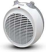 EWT Pom 3 Plus Indoor Grey, White 3000 W Fan Electric Space heater Electric Space Heaters (Fan Electric Space heater, CE, clase II, labelisé BEAB, Indoor, Floor, Grey, White, Rotary)