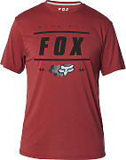 FOX Team 74 SS Tech Tee T-shirt Rojo S