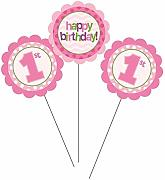 Fun at One 1st Birthday Pink Girl Party Range -