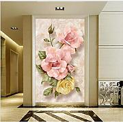 Fushoulu Custom Luxury Wallpapers Elegant Flowers