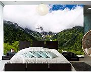 Fushoulu Large 3D Murals,Scenery Mountains Forests