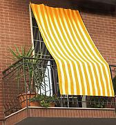 GEMITEX - Toldo a Rayas, Color Amarillo, 150 x 290