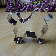 Generic oso perro acero inoxidable Cookie Cutter