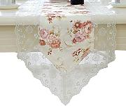 GGCCX Table Runner Grabados Bordadas Tailandés,